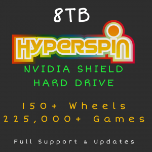 8TB Hyperspin HARD DRIVE for NVIDIA SHIELD