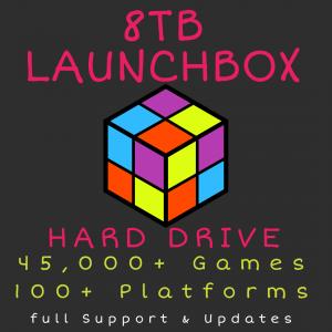 8TB Launchbox Hard Drive