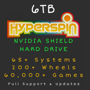 6TB Hyperspin HARD DRIVE for NVIDIA SHIELD