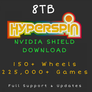 8TB Hyperspin DOWNLOAD for NVIDIA SHIELD