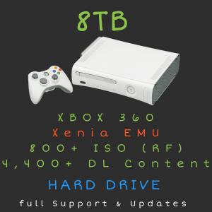 8TB XBOX 360 + DLC Hard Drive